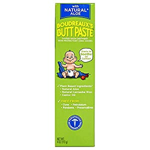 Boudreaux's Butt Paste Diaper Rash Ointment, With...