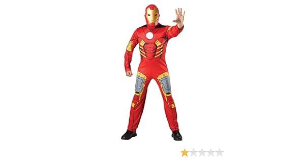 Avengers - Disfraz de Iron Man musculoso, para adulto (Rubies 880945): Amazon.es: Juguetes y juegos