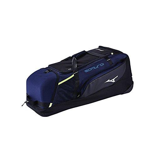 d59b5e543501 Mizuno 360271.9290.01.0000 Samurai Catcher's Wheel Bag One-Size  Charcoal-Black