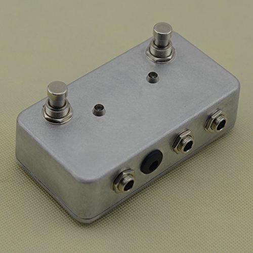 Hand Made ABY Guitar Pedal Footswitch Switch Box TRUE BYPASS Amp/Guitar's AB/Y by TTONE