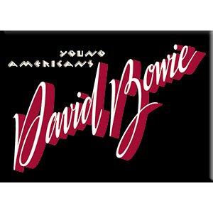 "Licensed Originals Inc., Young Americans - David Bowie Artwork Car Magnets, 2.5"" x 3.5"" Fridge Magnet"