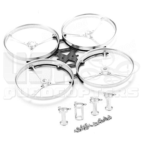 USAQ Tiny Whoop 100mm Drone Frame Carbon Fiber CNC Aluminum 8520 Motors Blade Inductrix