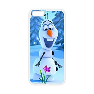 "[Tony-Wilson Phone Case] For Apple Iphone 6,4.7"" screen -IKAI0447762-Frozen Forever,Snow Queen and Olaf"