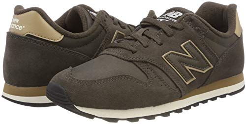 New Brown Suede 373 Balance Brown Men's Trainers SqwfS