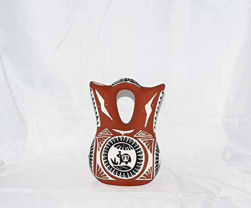 Laguna Vase - Quality Native American Hand Etched Decorative Wedding Vase with Detailed Design