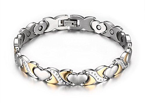 Jewelry Two tone Healthy Bracelet Stainless product image
