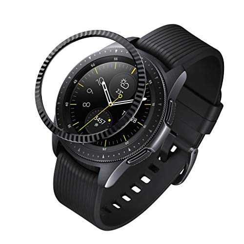 - VICCKI for Samsung Galaxy Watch 42MM Bezel Ring Adhesive Cover Anti Scratch Metal