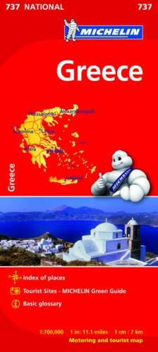Greece - Michelin National Map 737 (Michelin National Maps) PDF