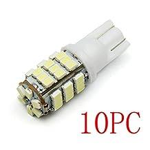TONSEE 10Pcs T10/921/194 Warm White RV Trailer 42-SMD 12V Backup Reverse LED Lights Bulbs