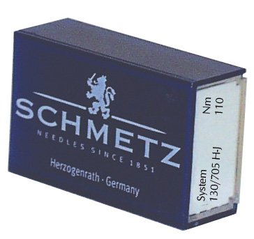SCHMETZ Denim (130/705 H-J) Household Sewing Machine Needles - Bulk - Size 110/18 by Schmetz