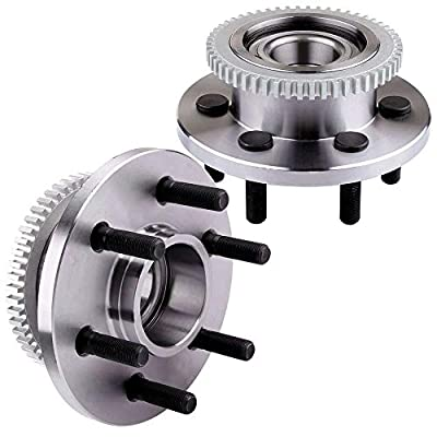 cciyu 515033 Wheel Hub and Bearing Assembly Replacement for fit Dodge Durango RWD Front Wheel Hubs with ABS 6 Lugs (2): Automotive