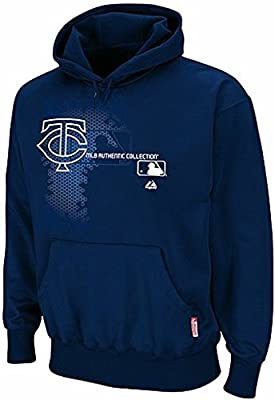 Minnesota Twins Majestic Authentic On Field Performance Hoodie Big & Tall Sizes