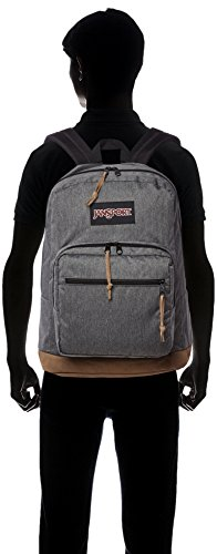 Pack Right De Polyester Hombres Bolsas Back Negro 100 Blanco Pack Jansport 7Ywdqgg