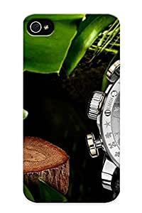 Awesome 8200b165759 Suffraganemay Defender Tpu Hard Case Cover For Iphone 4/4s- Louis Moinet Watch Clock Time (1) by lolosakes