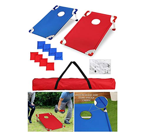 Kid Safety Mini Cornhole Beanbag Toss Game+Bags PVC Framed Game Targets SetQuick - Specifications Cornhole Bag