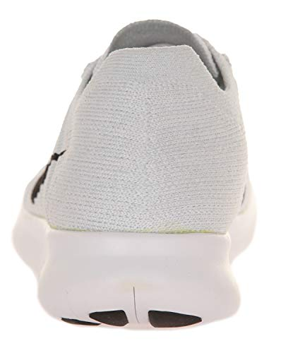 Nero Nike Corsa Free Bianco Donna pure Platinum Black da Scarpe Flyknit Platino White RN Wmns rOq5Ywr