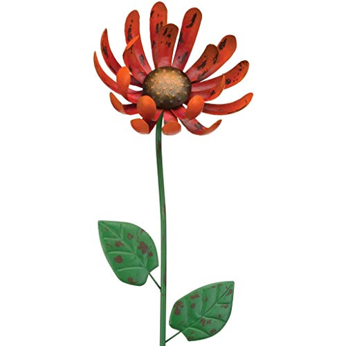 Regal Art & Gift 11626 Rustic Flower Stake -Outdoor Decorative Garden Stakes