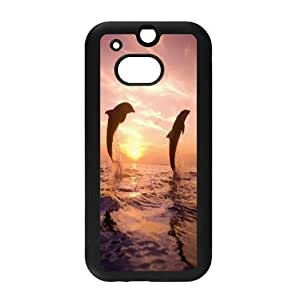 LTTcase Custom Dolphin Back Cover for HTC one m8