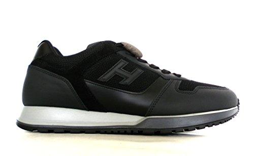 Hogan scarpe uomo H321 mod. allacciato H 3D (no etich) HXM3210Y850HIF246L nero