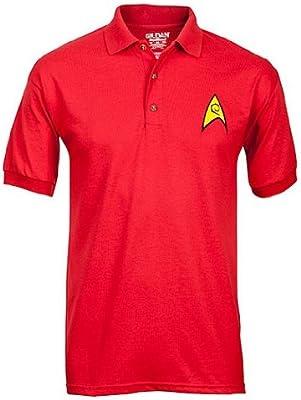 Star Trek Polos Uniformes - Rojo - PEQUEÑO: Amazon.es: Electrónica