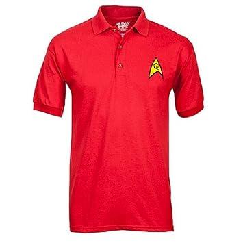 Star Trek Polos Uniformes - Rojo - MEDIO: Amazon.es: Electrónica