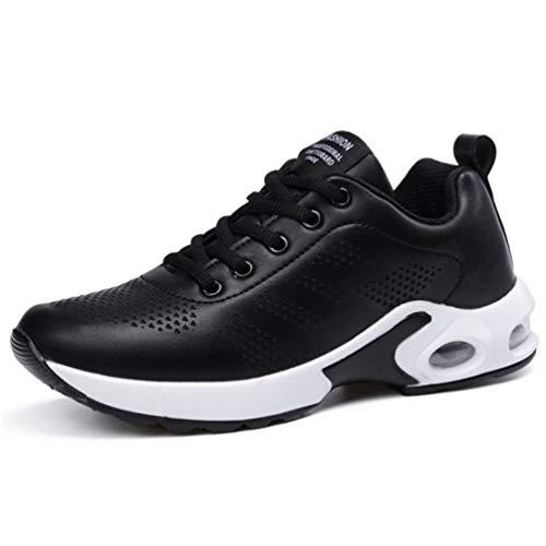 Damping Piatte Air Donna Passeggio Mesh Antiscivolo Sneakers Qianliuk Nere Scarpe Da A Nero Trendy Casual Traspiranti Ginnastica Corsa 47fqvHP