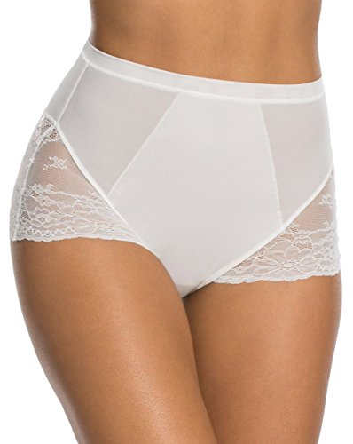 SPANX Women's Lace Collection Briefs, Clean White, m