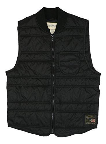 Ralph Lauren Denim & Supply Slim Fit Quilted Vest (Small, (Ralph Lauren Black Denim)