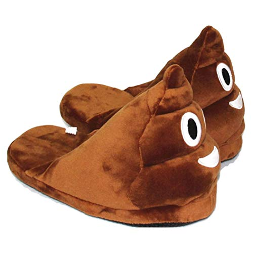 Kyle Walsh Pa Women and Men Furry Home Warm Soft Bottom Floor Furry Slippers Winter Funny Plush Indoor Emoji Slippers