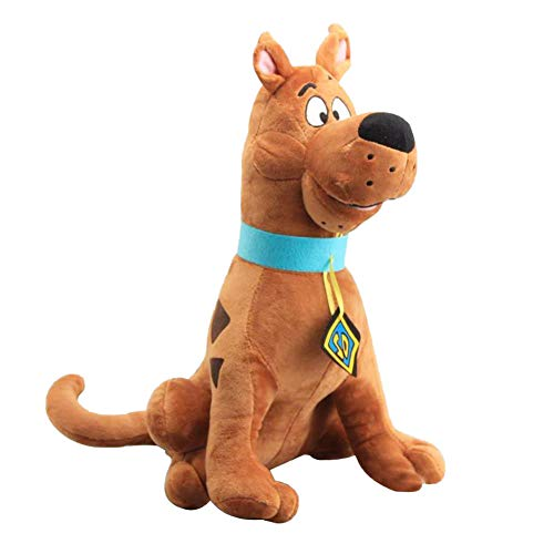 1pcs 35cm Soft Cute Scooby-Doo Great Dane Scooby Doo Dog Cute Dolls Stuffed Animal Plush Toy