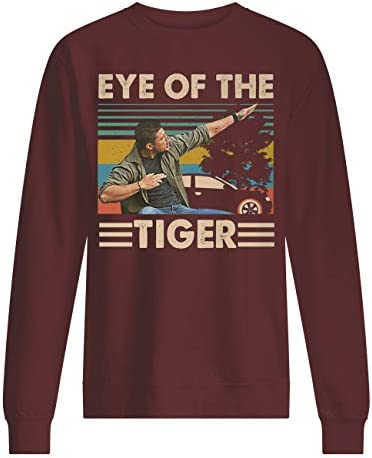 Vintage Eye of The Tiger Supernatural Dean Winchester - Sudadera unisex