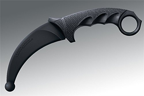Karambit Steel Cold - Cold Steel 92R49Z Rubber Training knife, Karambit, Clam Package