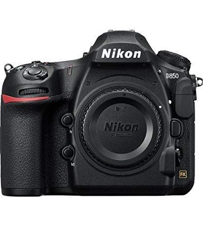 Nikon D850 FX-Format Digital SLR Camera Body (Renewed)