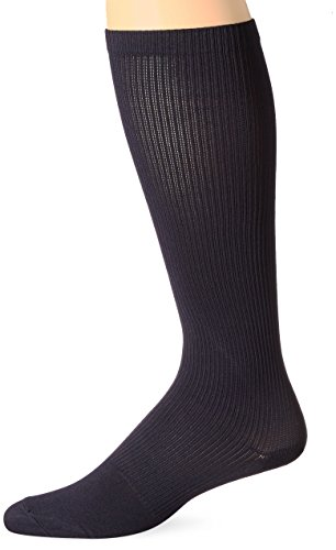 (BSN Medical 110336 Jobst Compression Hose with Closed Toe, Knee High, 8-15 mm HG, Small, Navy)
