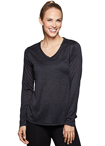 RBX Active Women's Gym Yoga Running Workout Top F18 Black L