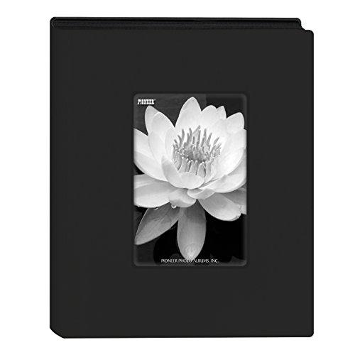Pioneer Photo Albums KZ-46 Black Mini Frame Cover Photo Album 24 Pkt 4x6