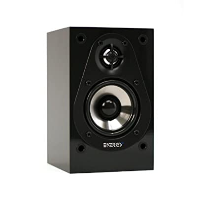 Energy Take Classic Satellite Speaker (Single Speaker, High Gloss Black) by Energy