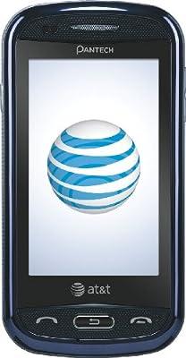 Pantech Laser Phone, Blue (AT&T)