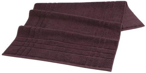 Christy Renaissance Towel Tub Mat, Damson
