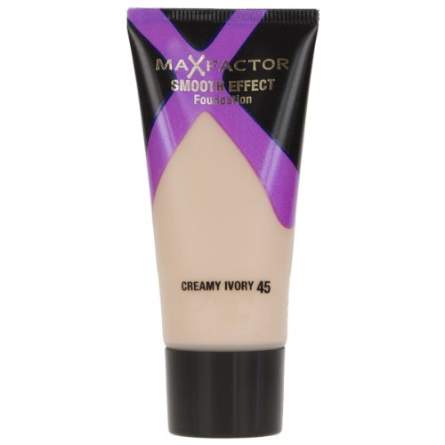Max Factor Smooth Effects Foundation, No.45 Creamy Ivory, 1