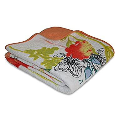 Greenland Home Watercolor Dream Quilted Throw
