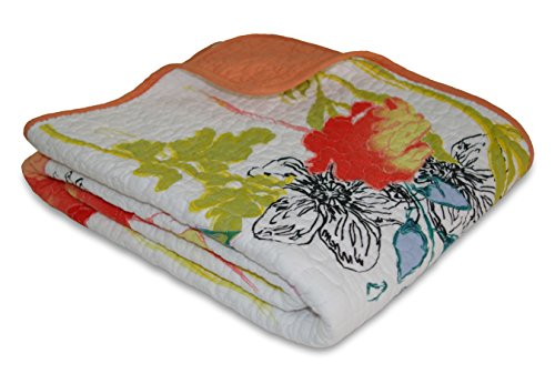 picture of Greenland Home Watercolor Dream Quilted Throw