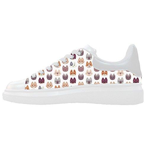 Dalliy Custom Fox Womens Canvas Shoes Le Scarpe Le Scarpe Le Scarpe.