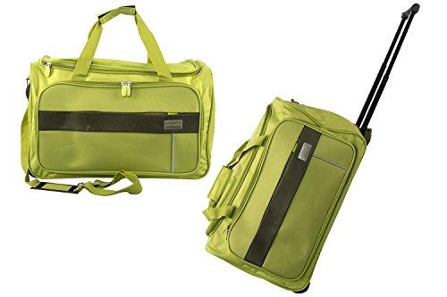 Borsa da palestra PIERRE CARDIN verde borsone da viaggio con trolley M247 37668ec1e33