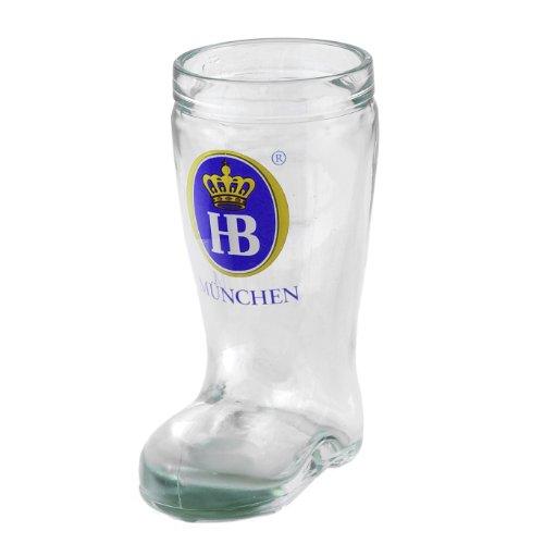 Beer Boot Shot Glass - Hofbrauhaus HB Munchen Beer Boot Shot Glass