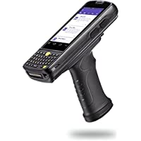 Skustack Android 5.1 Handheld Data Terminal with Keypad & Pistol Grip 4G, GPS, WIFI, Bluetooth - 1D & 2D Barcode Scanner + Camera