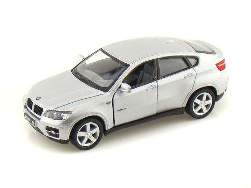 BMW X6 1/38 Silver (Bmw Model Car compare prices)