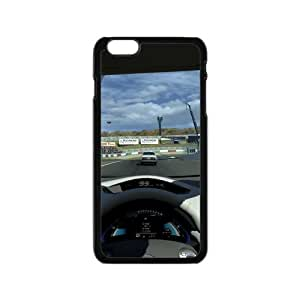 Racing Racer Final Sprint Win Iphone 6 4.7 Case Shell Cover (Laser Technology)
