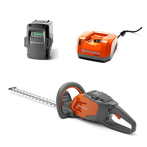Husqvarna Hedge Trimmer + 36-Volt 2.1 Ah Lithium-Ion Battery + Battery Charger