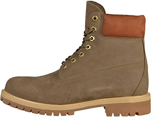 Timberland Mens 6 Pouces Premium - Ca1lxj Cantine Waterbuck (vert) Hommes Bottes
